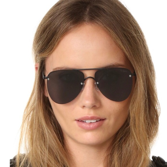 e009204f2e Le Specs Accessories - Le Specs The Prince Aviator Sunglasses Matte Black
